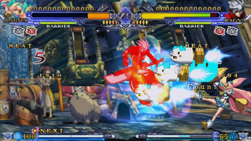 BlazBlue Continuum Shift II ISO PSP